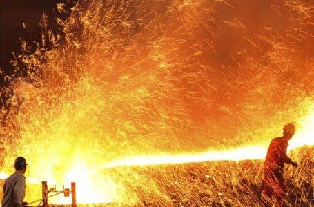 Ham çelik üretimi Eylül'de arttı